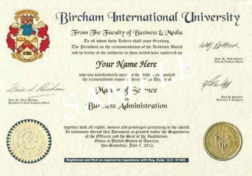Formación Diploma de Especialista en Biofísica Cuántica (BIU) - image BIUDiplomaSample-500x350 on https://equantum.org