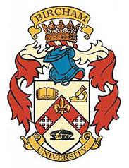 Diploma de Especialista en Biofísica Cuántica (BIU) - image Bircham-logo on https://equantum.org