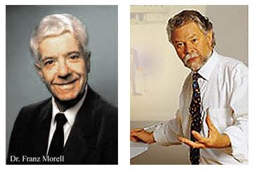 Dr. Franz Morell y el Ing. Erick Rasche